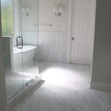 Traditional Bathroom by TILE COLLECTION INC