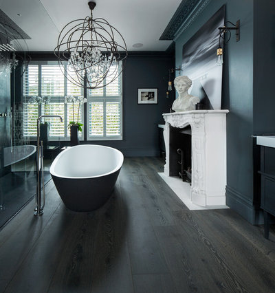 Traditional Bathroom by The Reclaimed Flooring Company