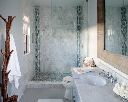 Vertical border houzz - Bathroom tile vertical stripe ...
