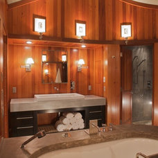 Contemporary Bathroom by GKW Working Design, Inc.