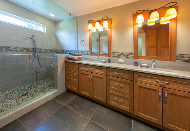 Traditional Bathroom by NKBA Puget Sound