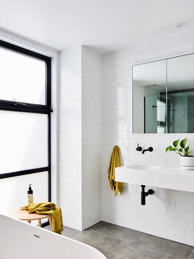 Modern Bathroom by Dylan Barber Building Design