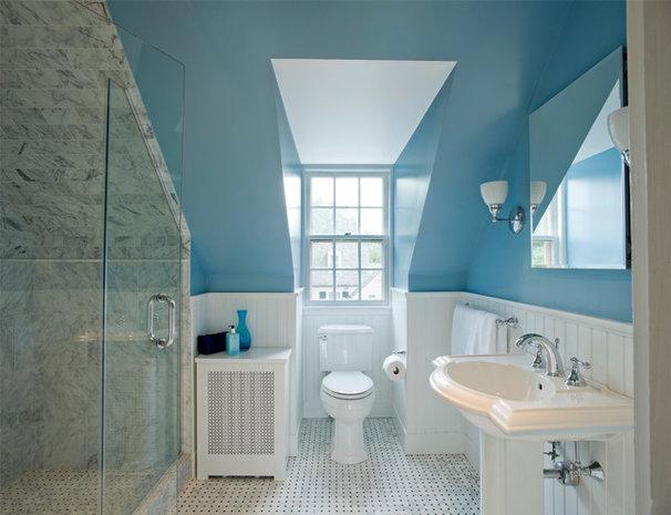 Traditional Bathroom by Patricia L. Caulfield, LLC