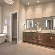 Contemporary Bathroom by JayMarc Homes