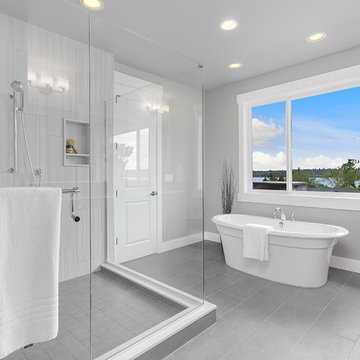 Greater Seattle Area | The Mozart Master Suite Bathroom