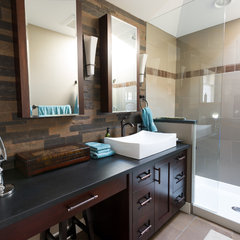 contemporary bathroom by T Russell Millwork Ltd.