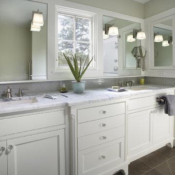 Greek Revival Remodel - Master Bathroom