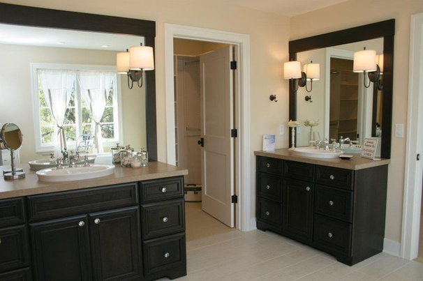Traditional Bathroom by Green Apple Design