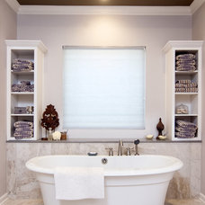 Transitional Bathroom by Kitchen & Bath Design by Acadian House