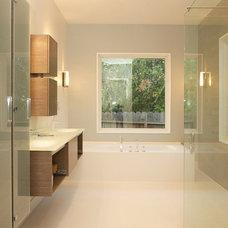 Contemporary Bathroom by Progress Builders