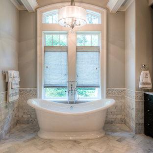 Freestanding bathtub - traditional freestanding bathtub idea in Charleston