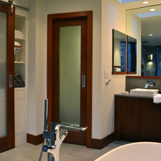 Modern Bathroom by Green Mountain Construction