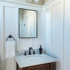 Beach Style Bathroom by Caldwell & Johnson  Custom  Builders & Remodelers