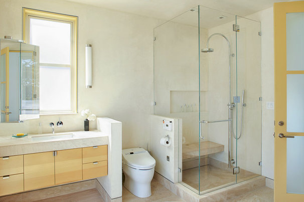 Contemporary Bathroom by Jetton Construction, Inc.