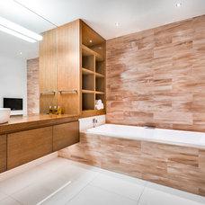 Contemporary Bathroom by Nichola Blakely Design