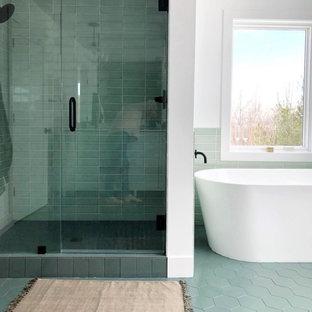 Foton och badrumsinspiration för skandinaviska badrum i Grand Rapids 3c229b33d91b6