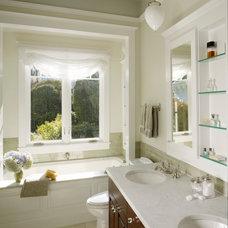 Traditional Bathroom by Kerman Morris Architects, LLP