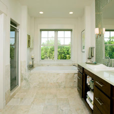 Traditional Bathroom by John F. Heltzel AIA Architects