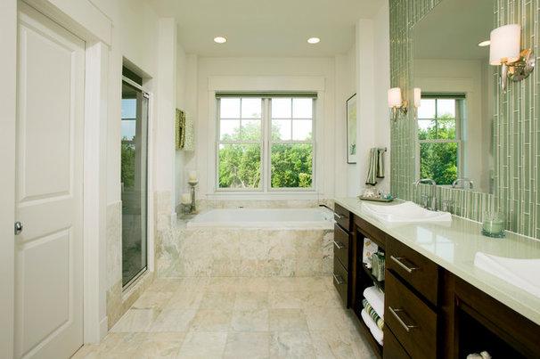 Traditional Bathroom by John F. Heltzel AIA Architects
