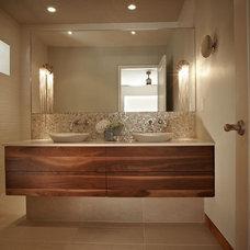 Contemporary Bathroom by Harvest House Craftsmen