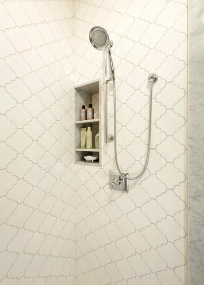 Cool Traditional Bathroom by Harry Braswell Inc
