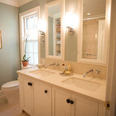 Traditional Bathroom by Catherine Smith Architect