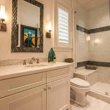 Transitional Bathroom by Key Residential