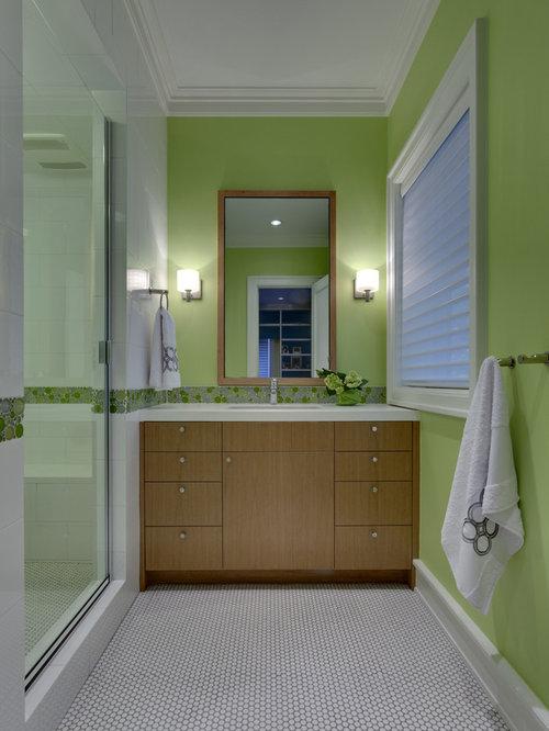 Modern Wall Trim Molding Bathroom Design Ideas Remodels