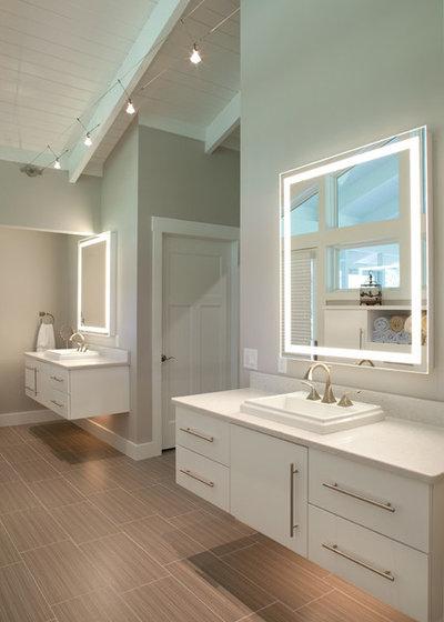 Contemporary Bathroom by Nest Designs LLC