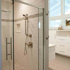 Modern Bathroom by Nest Designs LLC