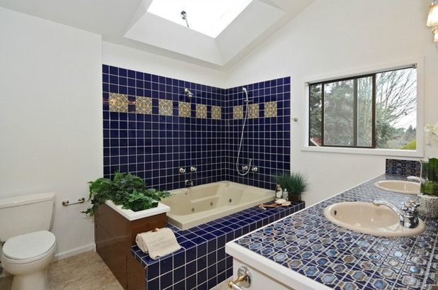 Contemporary Bathroom by Sound Painting Solutions