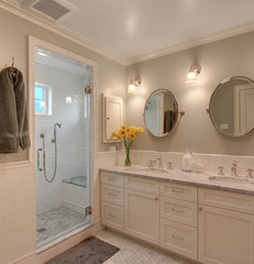 traditional bathroom by ecco design inc. architects