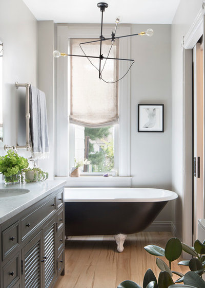 Eclectic Bathroom by A.Jennison Interiors