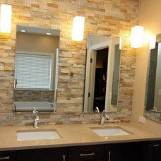Contemporary Bathroom by Boyles Home Improvement Inc