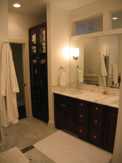 open linen closet ideas, pictures, remodel and decor