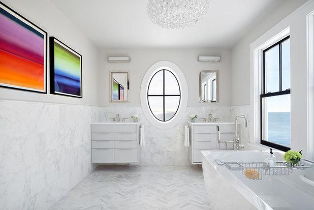 Ideal Beach Style Bathroom by Clean Design
