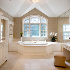 Traditional Bathroom by Diane Gerardi Design