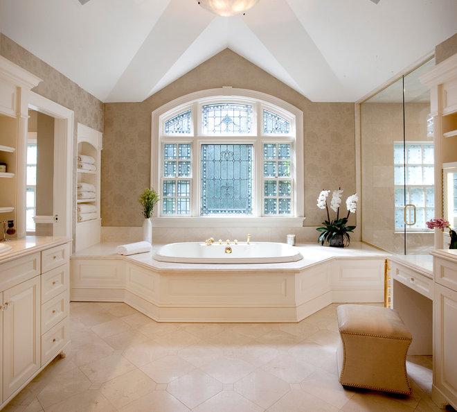 Traditional Bathroom by Diane Gerardi Design