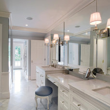 Traditional Bathroom by Molinelli Architects