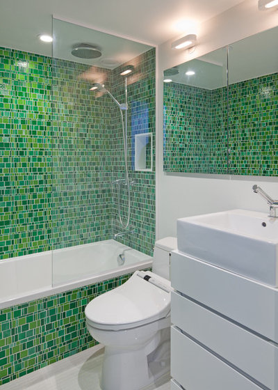 Eclectic Bathroom by The Turett Collaborative