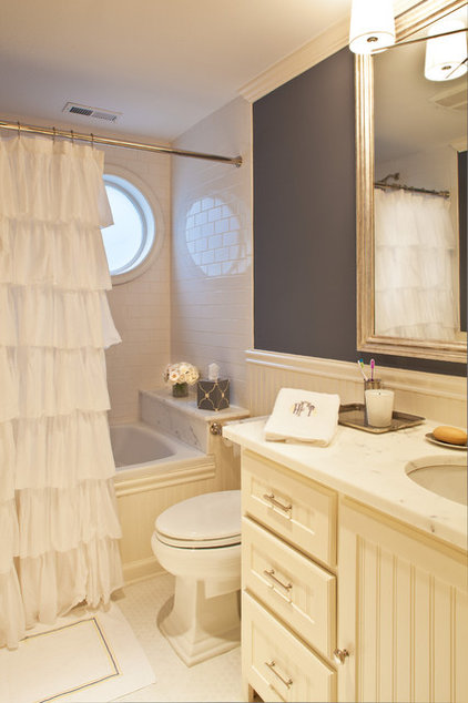Traditional Bathroom by Marks & Frantz Interior Design