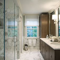 Contemporary Bathroom by Marks & Frantz Interior Design