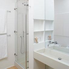 Contemporary Bathroom by Magdalena Keck Interior Design