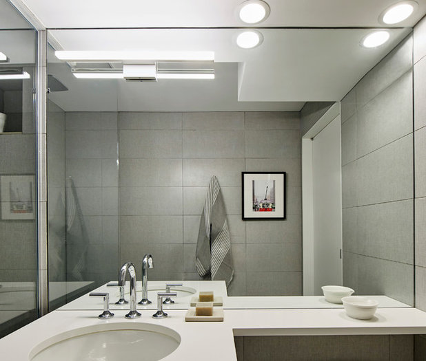 Blackman Plumbing Bathroom Faucets: Houzz Tour: Reboot For A 1960s Greenwich Village Apartment
