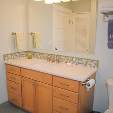Contemporary Bathroom by Elizabeth P. Lord Residential Design