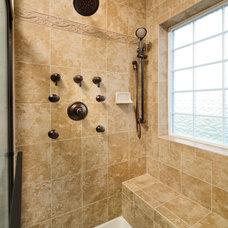 Craftsman Bathroom by Beracah Homes