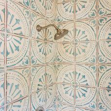 Mediterranean Bathroom by Kelly Ferm Inc.