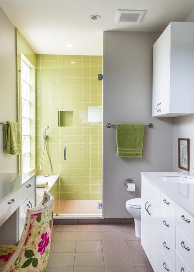Contemporary Bathroom by brett zamore design