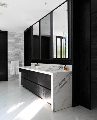 Contemporary Bathroom by Aran Construction, Inc.