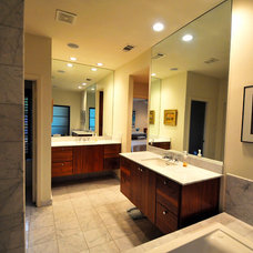 Contemporary Bathroom by Valerie McCaskill Dickman